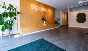 MOSO Flexbamboo used throughout the Squeeze building in Norway