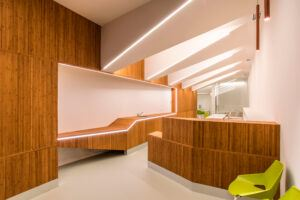 I prodotti MOSO® in bamboo sono utilizzati in Uffici dell'Hotel Living Puerto