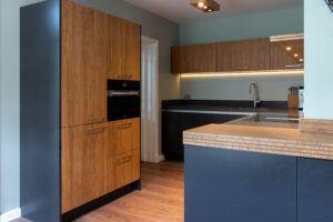 MOSO® massive Bambusplatten in der küche in einem Privathaus