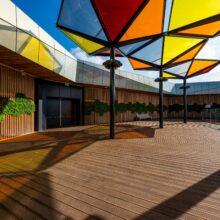 MOSO® Bamboo X-treme terraço em IKEA Loulé, Portugal