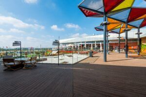 MOSO® Bamboo X-treme terrace at IKEA Loulé in Portugal