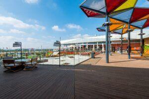 Terrazza in bamboo MOSO® X-treme presso IKEA Loulé, Portogallo