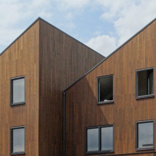 MOSO® Bamboo X-treme® closed cladding in Amsterdam