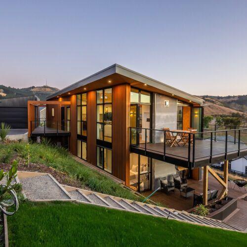 Los productos de bambu MOSO® en residencia privada en Christchurch