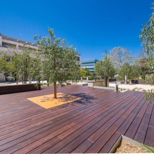 MOSO Bamboo X-treme products used for decking and furniture in San Diego, California