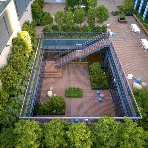 MOSO® Bambou Terrasse X-treme® a été utilisé dans le projet MAX