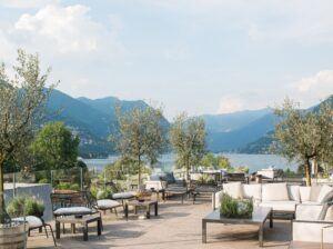 Bamboo X-treme installato per soddisfare gli elevati requisiti richiesti dell'Hilton Lake Como Hotel in Italia