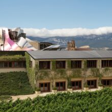 MOSO® Bamboo X-treme® Decking used at the Hotel Marqués de Riscal in Spain