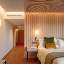 MOSO® Bamboo Supreme Flooring used at the Hotel Marqués de Riscal in Spain