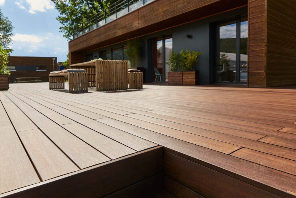 Terrasse en bambou MOSO® dans France