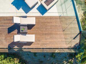 Terrasse en bambou MOSO® dans La Jolla