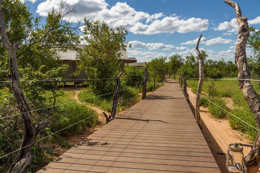 deck at safari lodge