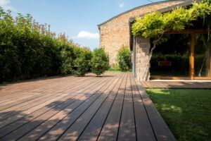 MOSO Bamboo X-treme terrace at a private residence in Ravenna, Italy
