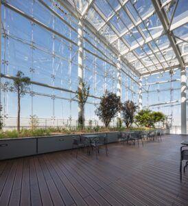 MOSO® Bamboo X-treme terrace at Tour Saint Gobain