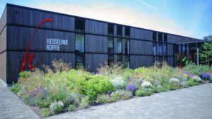 Impression du projet Bardage MOSO® Bamboo X-treme® chez Hesselink Koffie