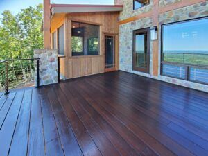 MOSO® Bamboo X-treme terrace at  Reiley Project in Haymarket,