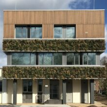 MOSO Bamboo X-treme Closed Cladding at Waterschap Limburg in the Netherlands
