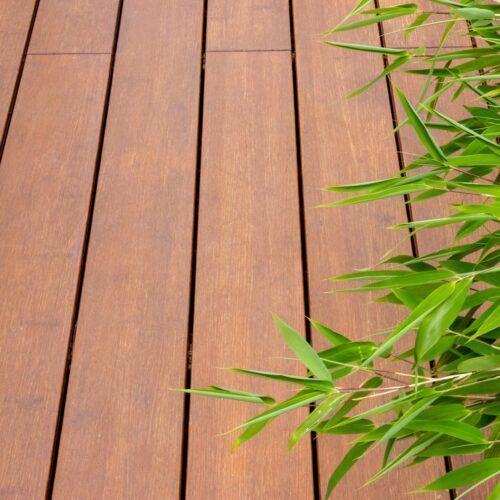 Bamboo N-durance Decking Oled Teak Bamboo