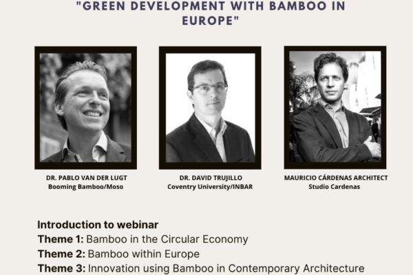 European Bamboo Webinar INBAR