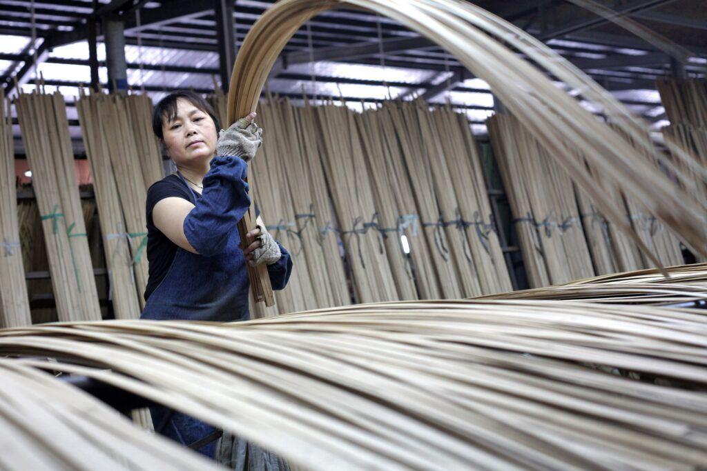 MOSO Bambus Produktion wie es hergestellt wird