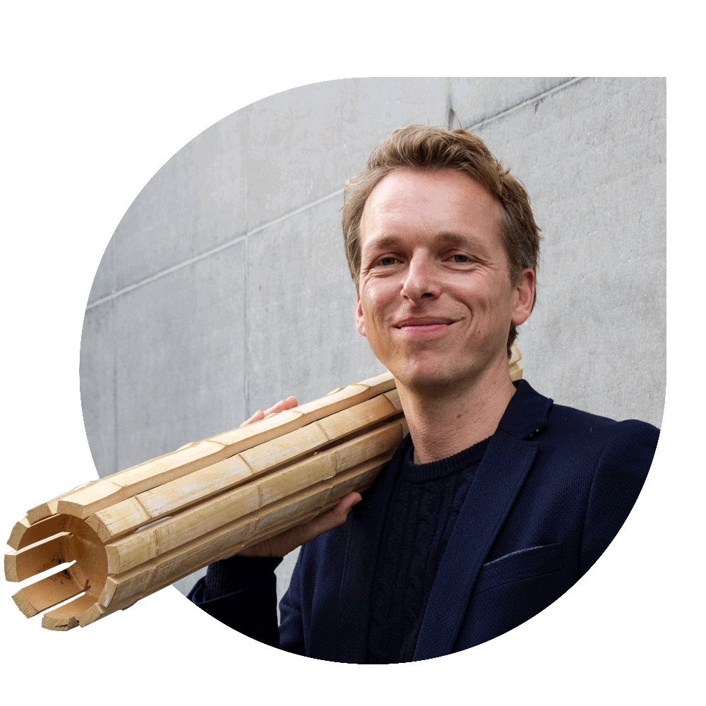 Pablo van der Lugt Sustainability Manager MOSO