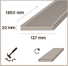 MOSO Bamboo X-treme outdoor decking 137
